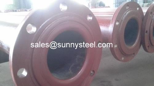 High Chromium Cast Iron Bimetal Cladding Pipe