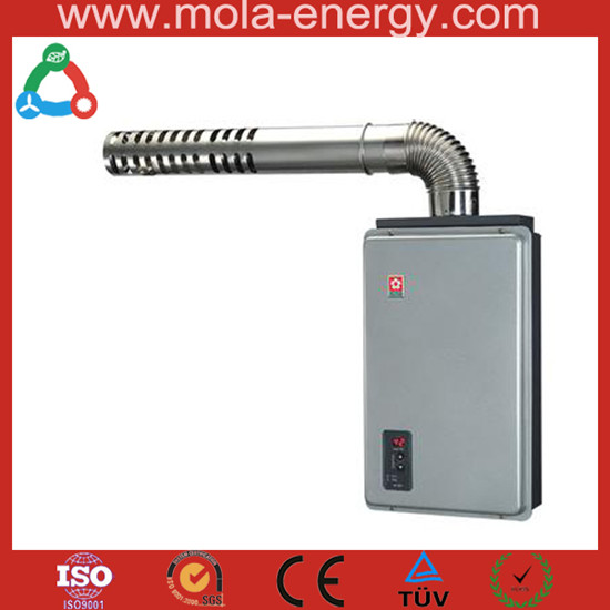 High Efficiency Biogas Water Heater