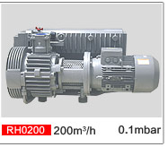 High Efficiency Performed Oil Lubricated Rotary Vane Vacuum Pump Rh0200
