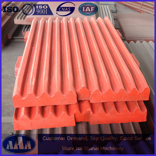 High Manganese Steel Casting Jaw Plate