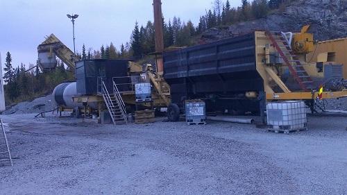High Mobile Asphalt Plant Ermont Rm 160