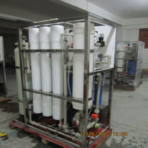High Power 20 Tons Per Day Ro Sea Water Purification System