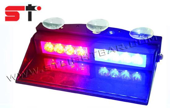 High Power Internal 8 Led Visor Strobe Light