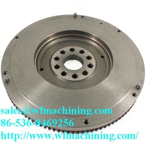 High Precision Customized Sand Casting Flywheel Of Grey Iron