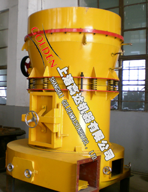 High Pressure Grinding Mill Constituent Principle