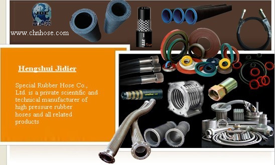 High Pressure Rubber Hoses Metal Hose
