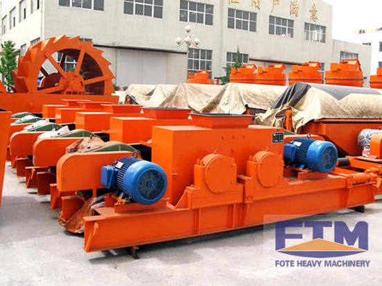 High Productivity Easy Maintenance Double Toothed Roll Crusher
