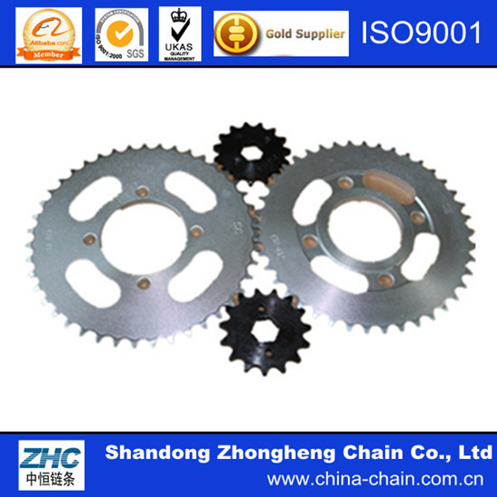 High Quality 45 Steel Motorcycle Sprocket