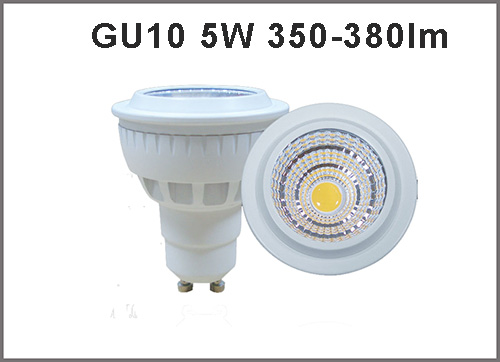 High Quality 5w Cri80 Ac85 265v Led Spotlight Gu10 350 380lm Bulb Dimmable Available