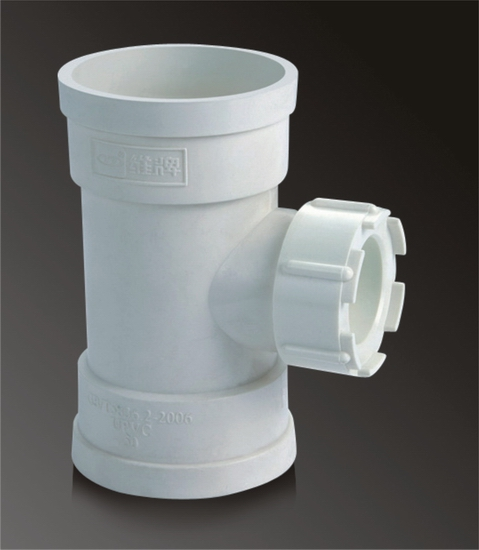 High Quality And Competive Price Pvc Cleanout Tee For Drainage