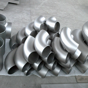 High Quality And Low Price Astm B16 9 Titanium Elbow In Pipe Fittings