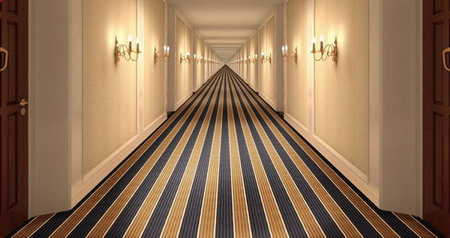 High Quality Axminster Hotel Corridor Carpet And