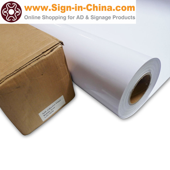 High Quality Bubble Free White Glue Self Adhesive Vinyl Film Vehicle Wrap
