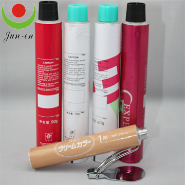 High Quality Collapsible Aluminum Hair Dye Tubes