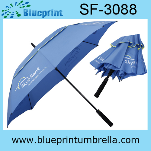High Quality Double Layer Vented Golf Umbrella
