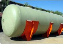 High Quality Horizontal Fiberglass Storage Tanks