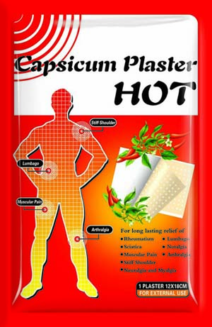 High Quality Hot Capsicum Plaster