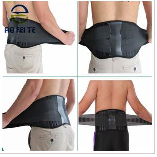 High Quality Neoprene Massage Back Support Band Lumbar Aft Y111