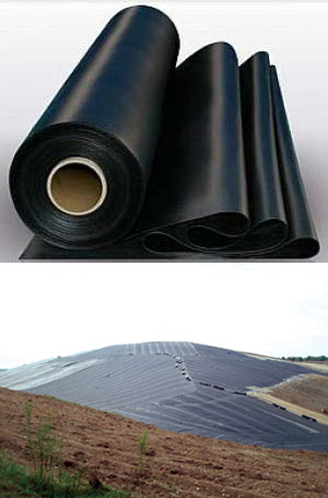 High Quality Smooth Hdpe Geomembrane