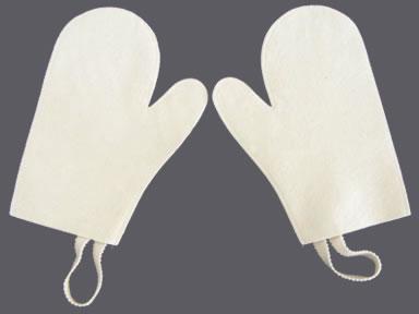 High Quality Wool Felt Sauna Glove