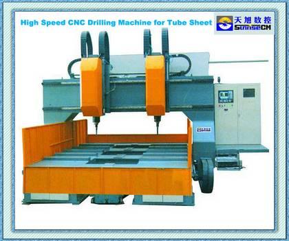 High Speed Cnc Tube Sheet Drilling Machine
