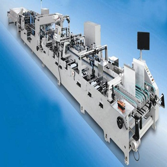 High Speed Fully Automatic Folder Gluer Machine