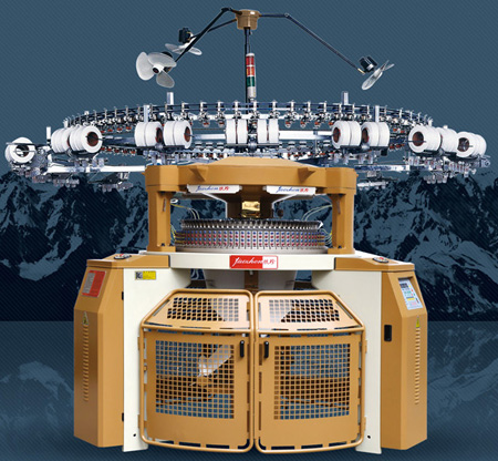 High Speed Interlock Circular Knitting Machine