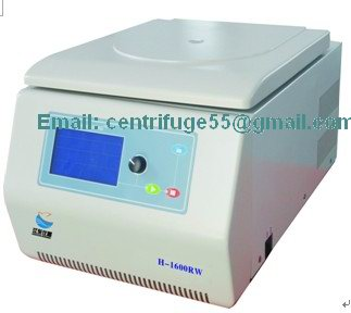 High Speed Micro Tabletop Refrigerated Centrifuge H 1600rw