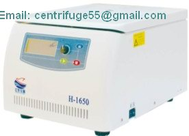 High Speed Table Top Centrifuge H 1650