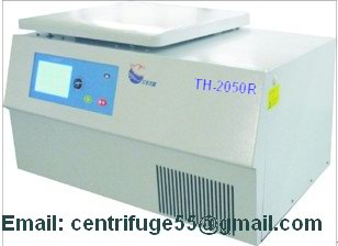 High Speed Tabletop Capacity Refrigerated Centrifuge Th 2050r