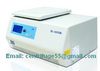 High Speed Tabletop Refrigerated Centrifuge H 1650r