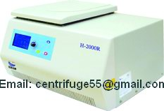 High Speed Tabletop Refrigerated Centrifuge H 2400r
