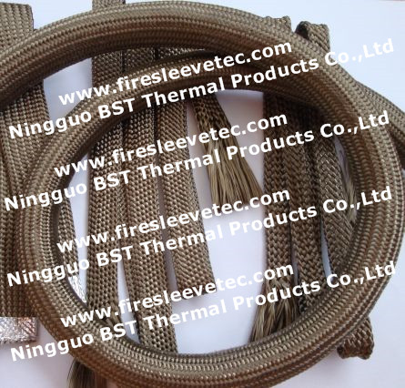 High Temperature Basalt Knit Sleeve Exhaust Pipe Heat Protection