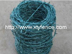High Tensile Wire Barbed Farm Fence