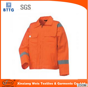 High Visibility Comfortable Flame Resistant Safety Jackets