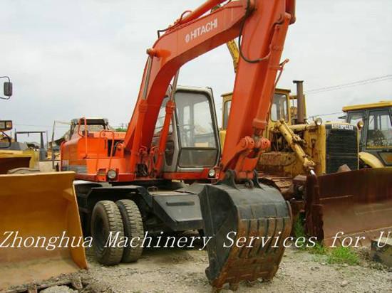Hitachi Ex100wd Wheeled Used Excavator