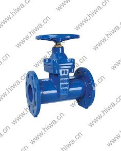 Hiwa Din3352 F5 Non Ring Resilient Seated Gate Valve