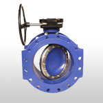 Hiwa Double Eccentric Butterfly Valve