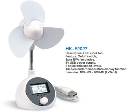 Hk F2027 Usb Fan With Good Quallity And Reasonable Price