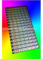 Hologram Nickel Master 0 01 15mm Thick 100