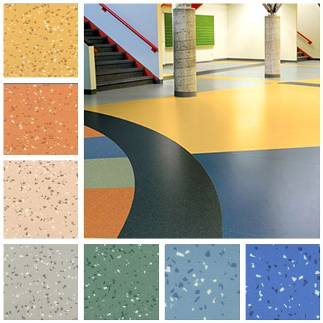 Homogeneous Vinyl Flooring