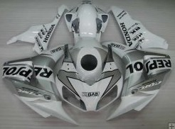 Honda Cbr1000rr 2006 2007 White Repsol Motorcycle Fairings