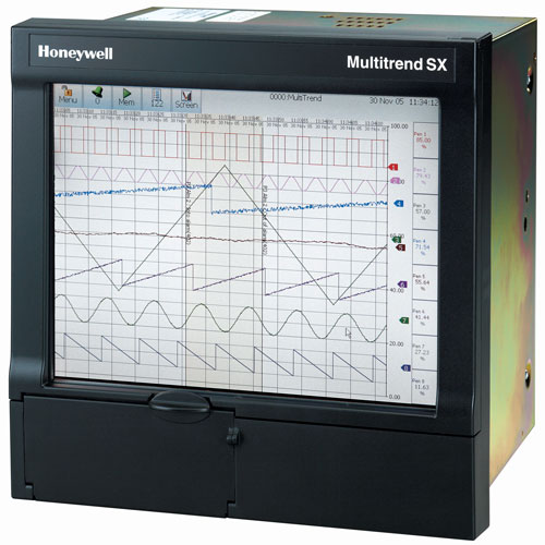 Honeywell Multitrend Sx Paperless Recorder