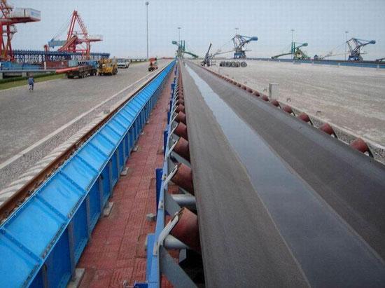 Horizontal Bend Belt Conveyor