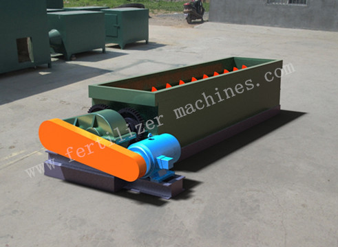 Horizontal Fertilizer Mixer One Twin Shafts Supplier