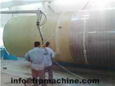 Horizontal Frp Tank Winding Machine