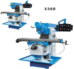 Horizontal Knee Type Milling Machine