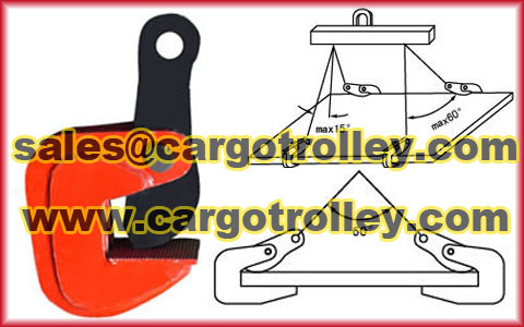 Horizontal Steel Lifting Clamps
