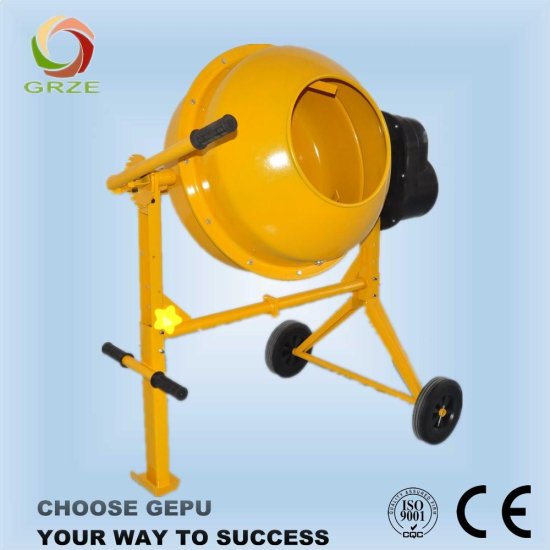Horizontal Type Mini Concrete Mixer With Bar Operation For Sale