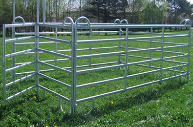 Horse Fence Panel And Fencing Gate